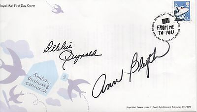 FILM STARS - double personally signed FDC DEBBIE REYNOLDS, ANNE BLYTH