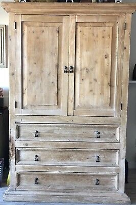 Vintage Pine Armoire/cabinet