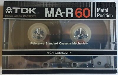 TDK MA-R 60 Cassette Tape New Perfect From Box