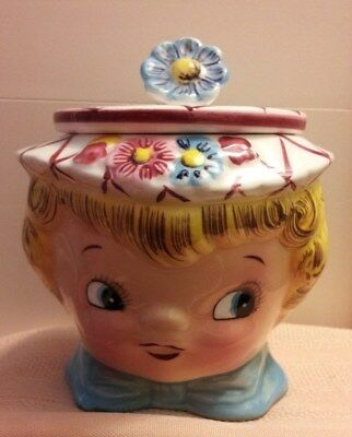 """VINTAGE LEFTON """"Daisy Miss"""" SUGAR BOWL, NO. 322 for MOTHER'S DAY!!!"""
