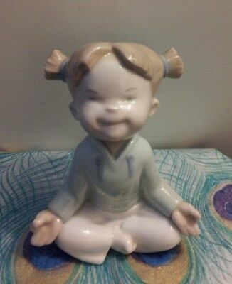 "LLADRO NAO ""Mini Meditation"" Figurine in EXCELLENT CONDITION for MOTHER'S DAY!!!"