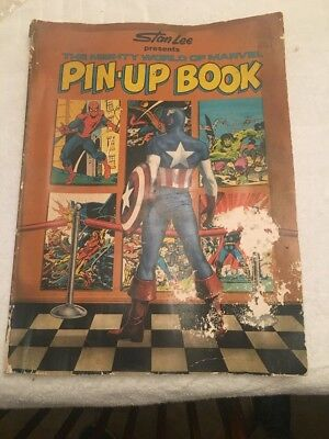 Stan Lee Presents The Mighty World Of Marvel Pin-up Book