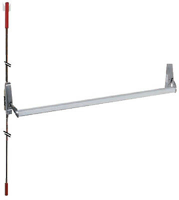 """Panic Exit Device Concealed Vertical Rod 48"""" (can be cut to fit smaller door)"""