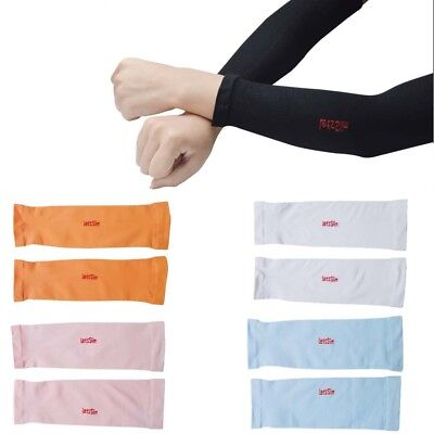 Kids Ice Silk Arm Cuff Sleeves UV Sun Protection Children Outdoor Cycling Sports