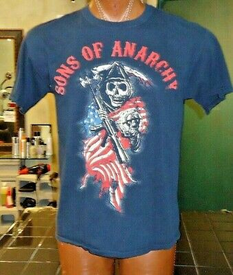 Sons Of Anarchy black large t-shirt, American crime television drama series