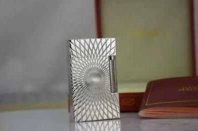 HOT S.T Memorial lighter Bright Sound! free shipping NEW Silver colour lighter