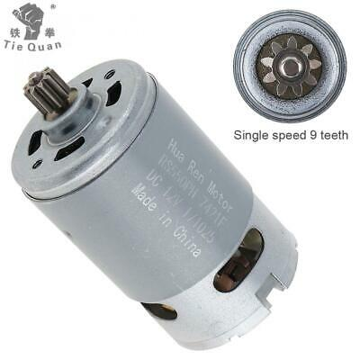 RS550 12V 19500 RPM DC Motor High Torque Gear Box for Electric Drill Screwdriver