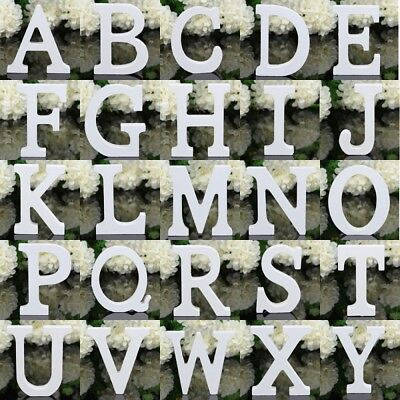 26 Wooden Freestanding Letters Love Alphabet Wedding Party Home Shop Decor 2018