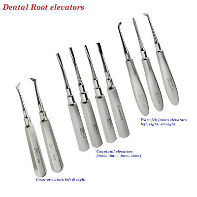 Dental Root Extractive Elevators Coupland Cryer Warwick Jame For Removal Of Root