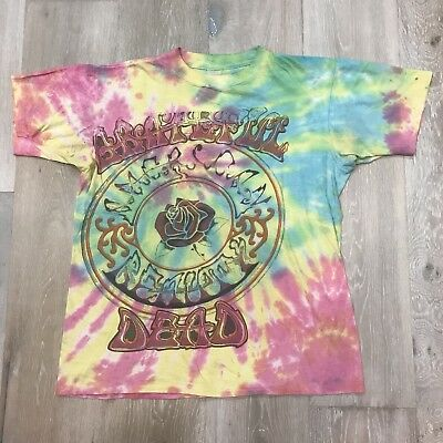 Vintage 1994 Grateful Dead Spring Tour Lot Tee Tie Dye