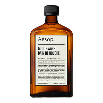 Aesop Mouthwash 500ml Alcohol-free Natural pH of the Mouth AU Stock Free Ship