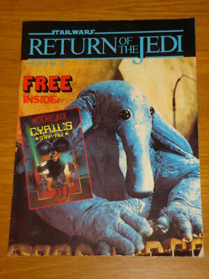 Star Wars Return Of The Jedi #50 May 30 1984 British Weekly Comic With Free Gift