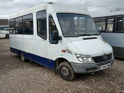 Mercedes Sprinter 413 Automatic minibus / day bus project. Power door, Tail lift