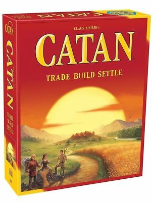 Catan Board Game(2015 Edition)&Catan Seafarers Expansion Brand New Sealed