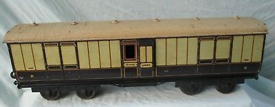 Gauge 2, Pre WW1 Georges Carette For Bassett Lowke, L&NWR Full Goods Brake Van