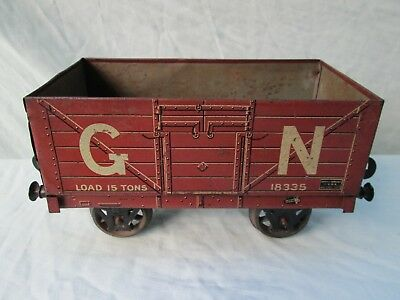 Gauge 2 Bassett Lowke Great Northern 15 Ton open wagon