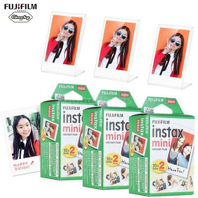 3*20 Scatti Instax Mini Pellicola Film 3*Portafoto Fuji Mini 7s/8/25/50/90/70 IT