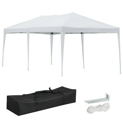 3x6M Garden Waterproof Uv protection Pop up Gazebo Tent Outdoor Tent W/Carry Bag