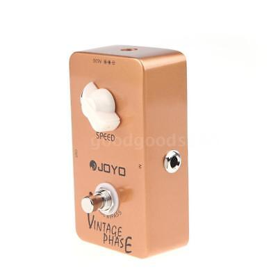 JOYO JF-06 fase Vintage Phaser chitarra effetto pedale True Bypass R9A7