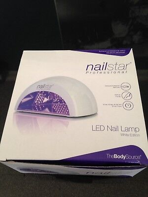 NAILSTAR® PROFESSIONAL LED Nail Dryer and Nail Lamp for Gel with 4 ...