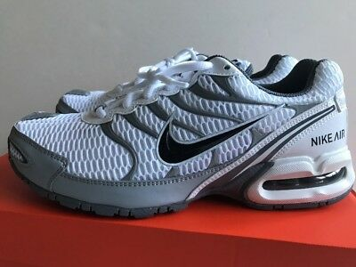 26eca2e8f8b Nike Air Max Torch 4 Men s Running Shoes White Grey Size 8 New 343846-