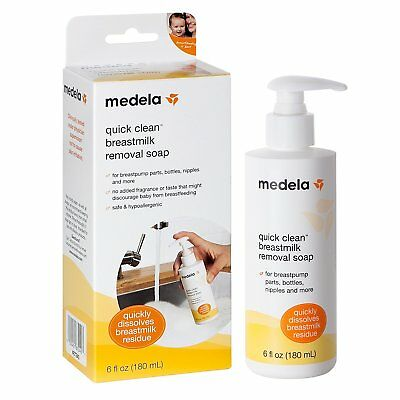 Medela Quick Clean For Breastpump Breastmilk Removal Soap, 6 Ounce