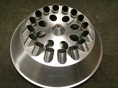 SORVALL CENTRIFUGE ROTOR TYPE M w/Inserts