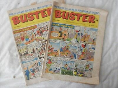 BUSTER comic 2 issues (1970)