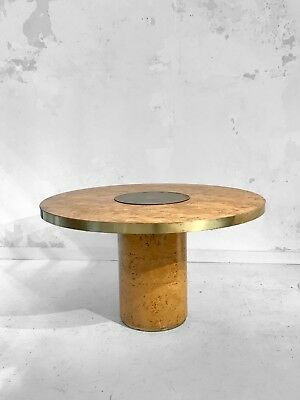 1970 Willy Rizzo Mario Sabot Grande Table Moderniste Bauhaus Shabby-Chic