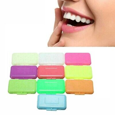 10 Packungen Fruit Scent Dental Orthodontie Wachs für Zahnspange Gum Irrit