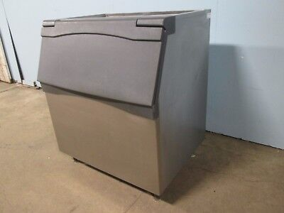 """SCOTSMAN B842 S"" HD COMMERCIAL ±800lbs. OPEN-TOP ICE STORAGE BIN w/FLIP-UP DOOR"