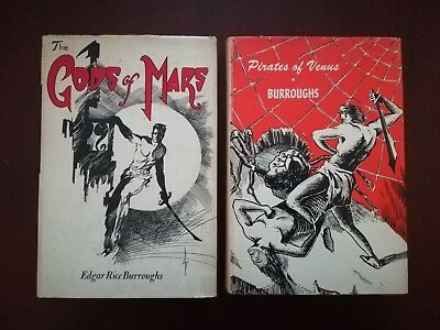 The Gods of Mars & Pirates of Venus, Canaveral Press, Edgar Rice Burroughs
