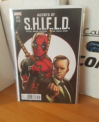Agents of shield 1 nm rare deadpool variant
