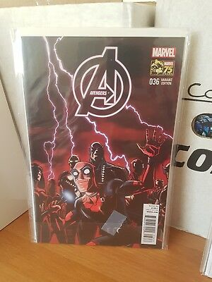 Avengers 36 nm rare deadpool variant