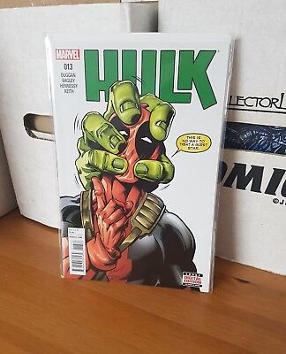 Hulk 13 nm uber rare deadpool guest