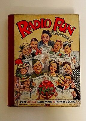 RADIO FUN ANNUAL 1942 - Near MINT CONDITION