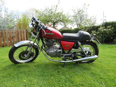 Suzuki GN250 Cafe Racer, lots of new parts, long MOT,