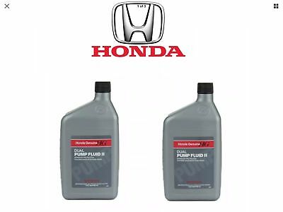 New 2X Honda Genuine Dual Pump 2 Differential Fluid 08200-9007