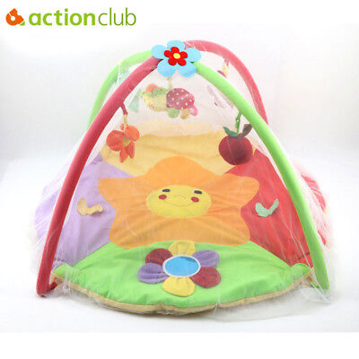 Actionclub Baby Crib Bed Mosquito Net 0-1 Year Infant Summer Mosquito Cover Fold