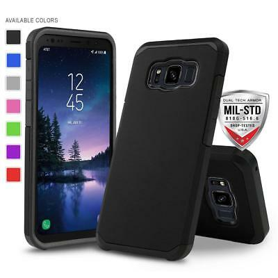 FOR [SAMSUNG GALAXY S8 ACTIVE] PHONE CASE [DuoTEK SERIES] SHOCKPROOF HARD COVER