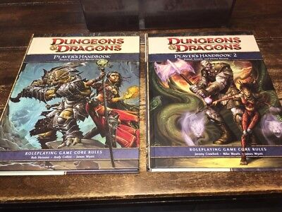 Dungeons & Dragons 4TH Ed. Player's Handbook Collection 2 Vol Set 9780786955527