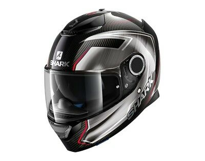 Motorcycle Helmet Shark Spartan Carbon Guintoli Chrome