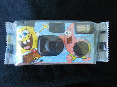 SpongeBob Squarepants Collectible 35mm One-Time-Use Camera 2006 Sealed Package