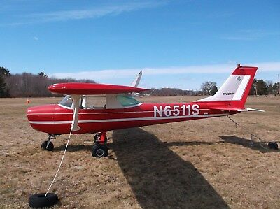 1967 Cessna 150, Cute Little Airplane, Wings Damaged, Complete Airframe, Cheap!