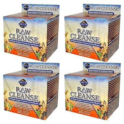 4X Garden Of Life Raw Cleanse The Ultimate Standard In Cleansing & Detoxi Care