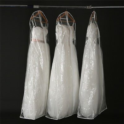 Wedding Dress Transparent Cover Storage Display Bags Waterproof 160/170/180CM