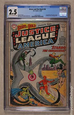 Brave and the Bold (1st Series DC) #28 1960 CGC 2.5 0297525005