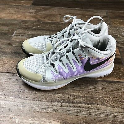 1de7d6818de1 Nike Vapor 9.5 Tour Tennis Athletic Gray Purple Shoes 631475-005 women s  size 9