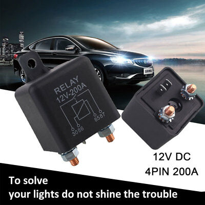 High Current Relay Automotive Preheat Relay Durable Marine Split Charge