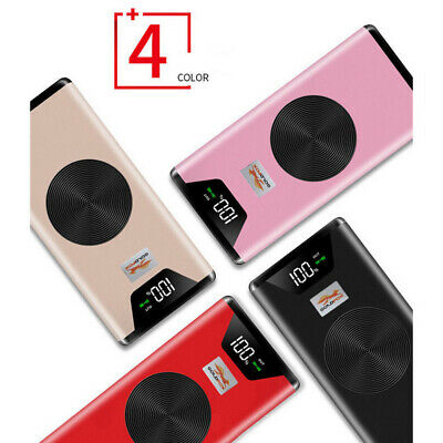 20000mAh Qi Wireless External Battery Charger Power Bank For iPhone Samsung LG